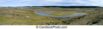 Yellowstone prairie, U.S.A.