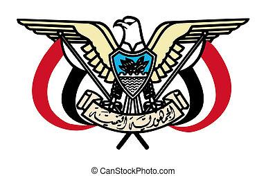 Yemen Coat of Arms - Yemen coat of arms, seal or national ...
