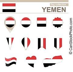 Yemen Flag Collection