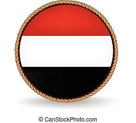 Yemen Seal - Flag seal of Yemen.