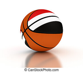 Yemeni Basketball Team (High Resolation computer generated ...