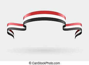 Yemeni flag background. Vector illustration. - Yemeni flag ...