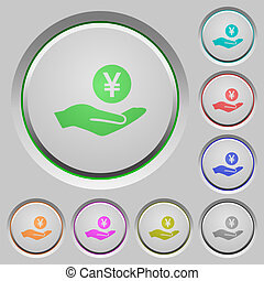 Yen earnings push buttons