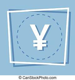 Yen Sign Icon Web Button