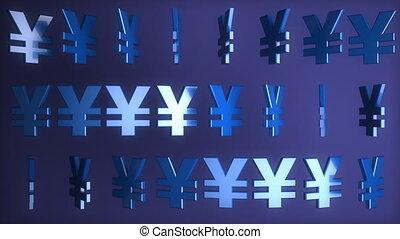 Yen signs (seamless)