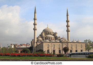 Yeni mosque in Istanbul, Turkey