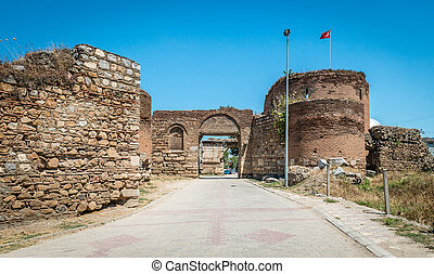 Yenisehir gate of Nicea Ancient City, Iznik