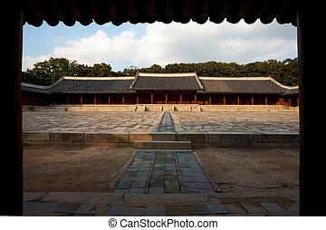 yeongnyeongjeon, jongmyo, santuario, vestíbulo