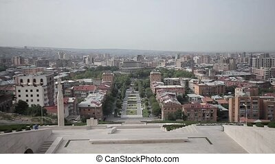 Yerevan city armenia, architecture, building, mountain, travel, ararat, nature
