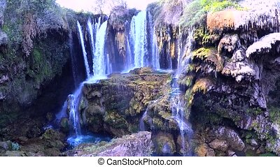 yerkopru waterfalls, hadim