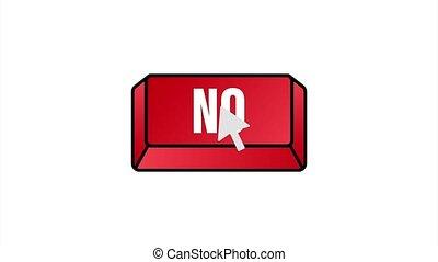 Yes button. Feedback concept. Positive feedback concept. Choice button icon. stock illustration