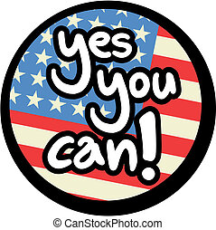 Yes you can - Creative design of yes you can