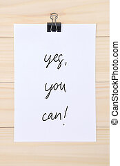 Yes You can quote on white paper