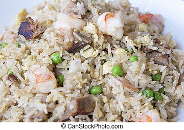 Yeung Chow Fried Rice Closeup