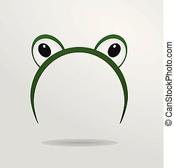 yeux, masque, grenouille