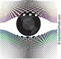 yeux, mon, regard
