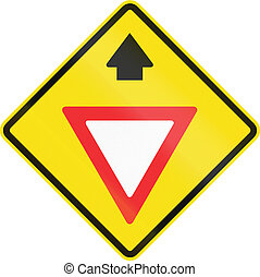 Yield Ahead In Chile