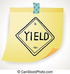 yield doodle