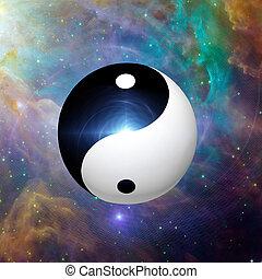 yin, égi, yang