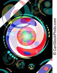 yin and yang pop art