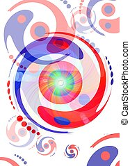 yin and yang swim to infinity No. 2