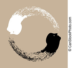 yin , taichi, yang