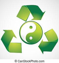 yin, verde, yang