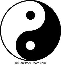 yin-yang, 상징