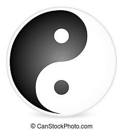 yin-yang, 2, symbole