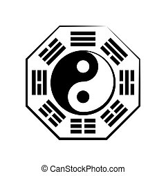 Yin & Yang (duality) and Ba-gua (the eight trigrams) -...