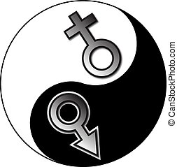 Yin Yang male female