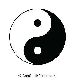 yin yang symbole