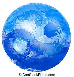 yin yang, water.