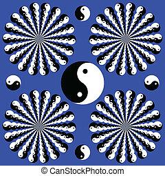 yin-yang, wheelies