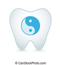 ying, dente, yang