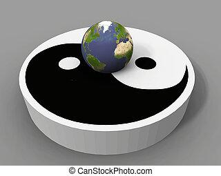 ying, la terre, yang, séance