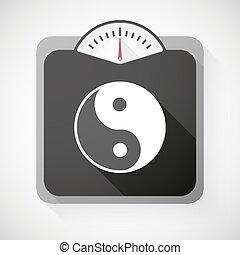 ying, scala, peso, yang