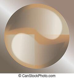 ying Yang Illustration