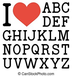 yo, amor, ..., (create, su, poseer, text)