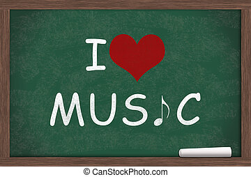 yo, amor, música