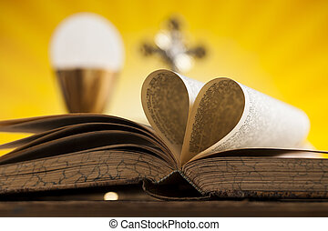 yo, amor, religión, para, cristianismo, plano de fondo