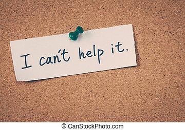 yo, can't, ayuda, él