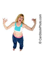 Yo Mama! - Middle aged gangsta momma with an attitude. Yo.