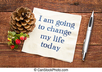yo, soy, yendo, a, cambio, mi, vida, hoy