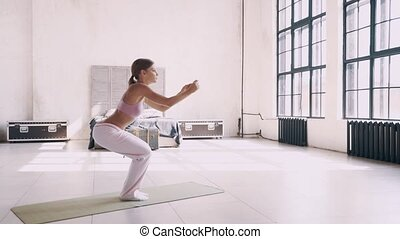 Yoga at home. Simple Yoga exercises for beginners at home -...