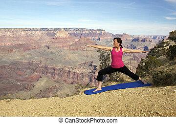 Yoga at the Canyon