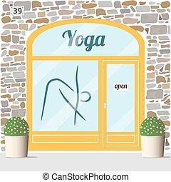 yoga, centro
