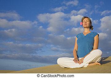 yoga, duin