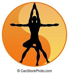 yoga, equilibrio