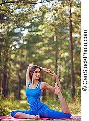 yoga, esercizio